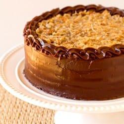 Brown Eyed Baker German Chocolate Cake