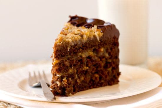 German Chocolate Cake Shooter Recipe