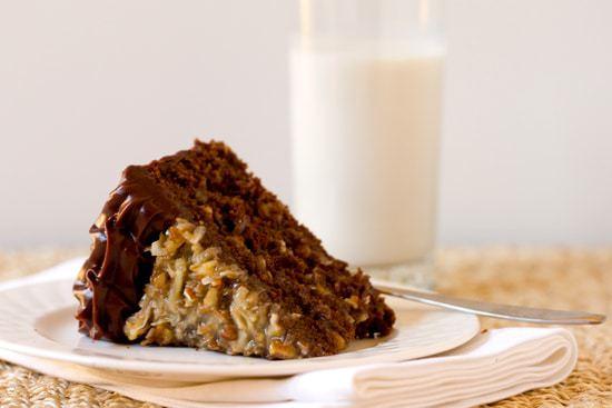 german chocolate wedding cake