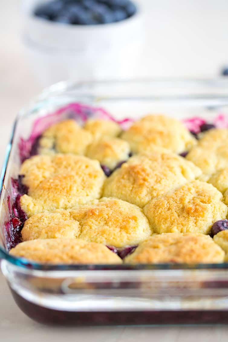 Blueberry Cobbler Recipe Brown Eyed Baker