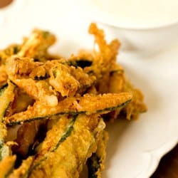 Beer-Battered Zucchini Fries
