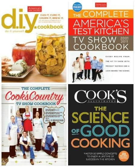 Giveaway Americas Test Kitchen Cookbooks Online Cooking School