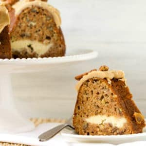 Apple Bundt Cake With Cream Cheese Filling Amp