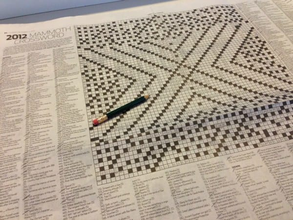 Monster crossword puzzle