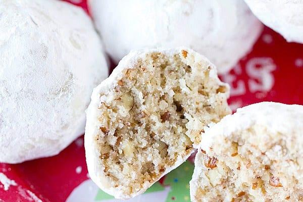 Walnut snowball cookies recipes