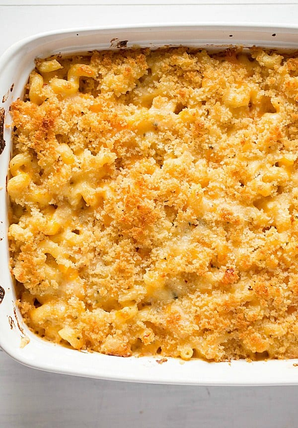 Homemade Macaroni And Cheese Bread Crumb Topping ...