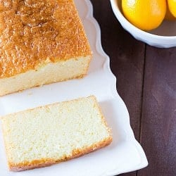Meyer Lemon Loaf Cake