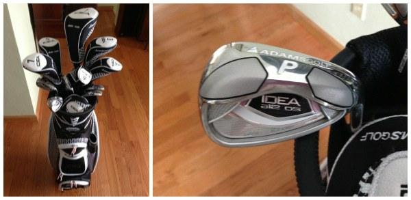 New golf clubs!