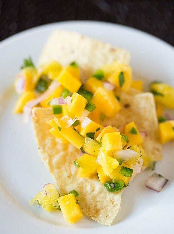 Mango-Pineapple Salsa Recipe