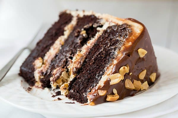 Homemade Snickers Cake Recipe