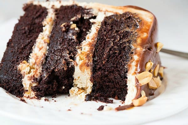 Snicker Bar Cake Filling