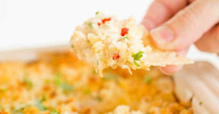 The Best Easy Crab Dip