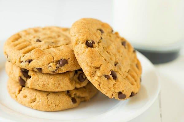 Pretzel-Peanut Butter Chocolate Chip Cookies