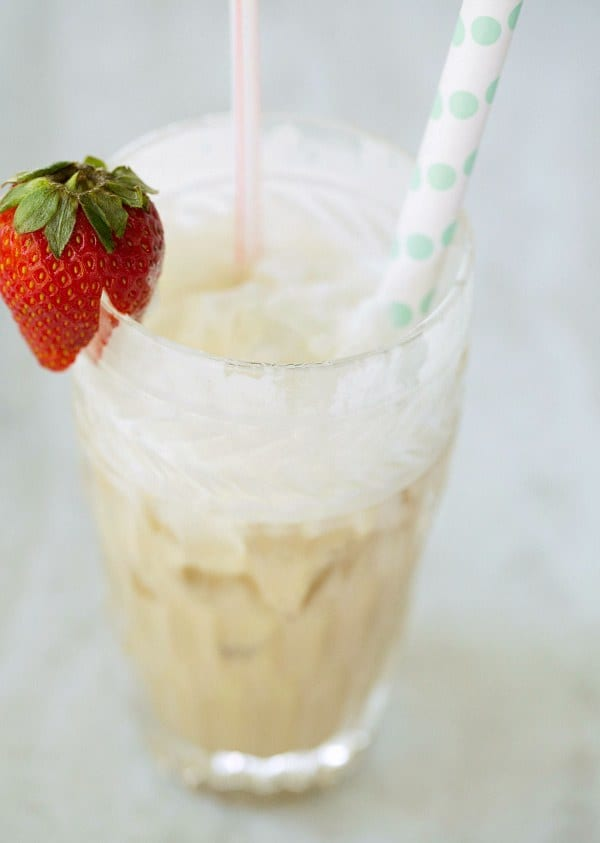 Italian Cream Soda Recipe by Brown Eyed Baker :: www.browneyedbaker.com