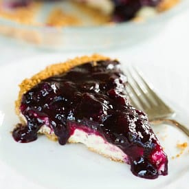 Blueberry Cheesecake Pie Recipe