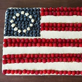 Flag Cake (From Scratch!)