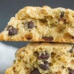 Copycat recipe for Levain bakery chocolate chip cookies