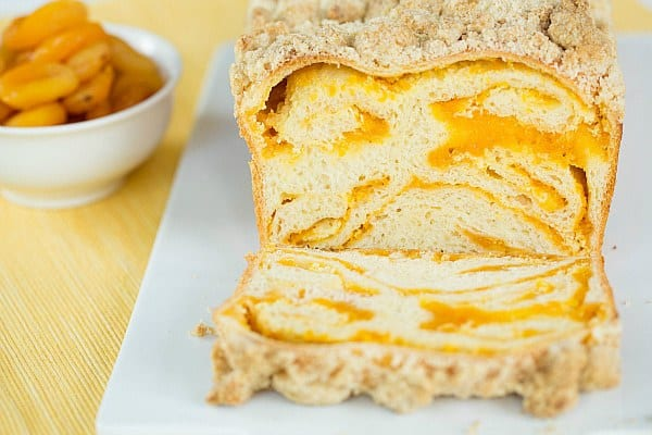 Apricot Cream Cheese Babka