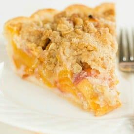Peach Crumb Pie Recipe