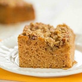 Applesauce Snack Cake Recipe