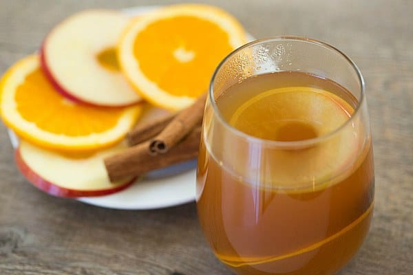 Hot Apple Cider Rum Punch by @browneyedbaker :: www.browneyedbaker.com