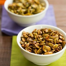 How to Roast Pumpkin Seeds | Toasted Pumpkin Seeds Recipe