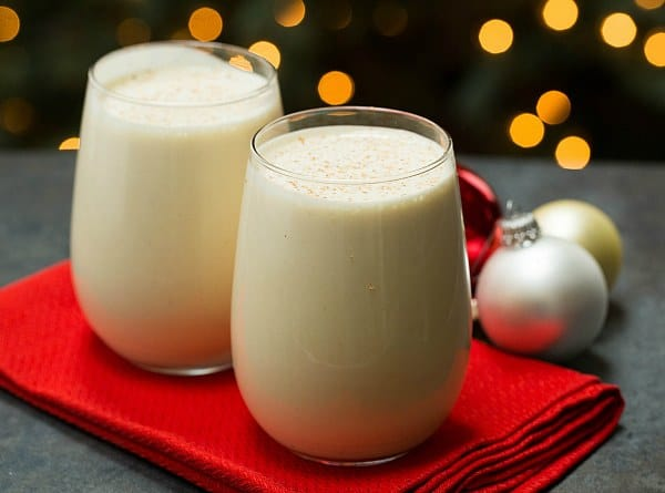 Old-Fashioned Eggnog #recipe on @browneyedbaker :: www.browneyedbaker.com