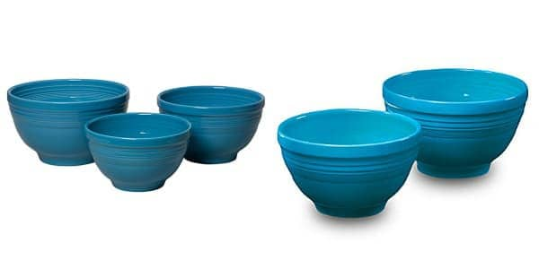 Enter to win a Fiestaware Baking Bowl and Prep Bowl Set! on www.browneyedbaker.com