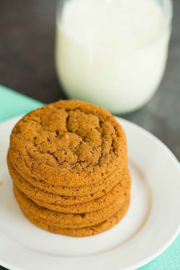 Soft And Chewy Gingersnap Cookies Brown Eyed Baker