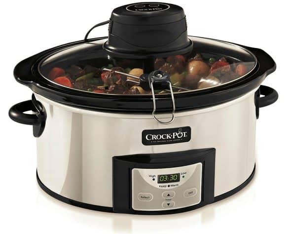 Enter to win a Crock-Pot Digital Slow Cooker with iStir Stirring System on www.browneyedbaker.com!