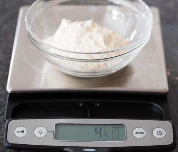 The Importance of Weighing Ingredients