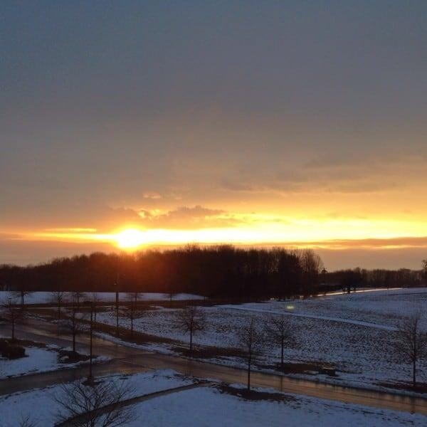 Sunrise over North Carolina