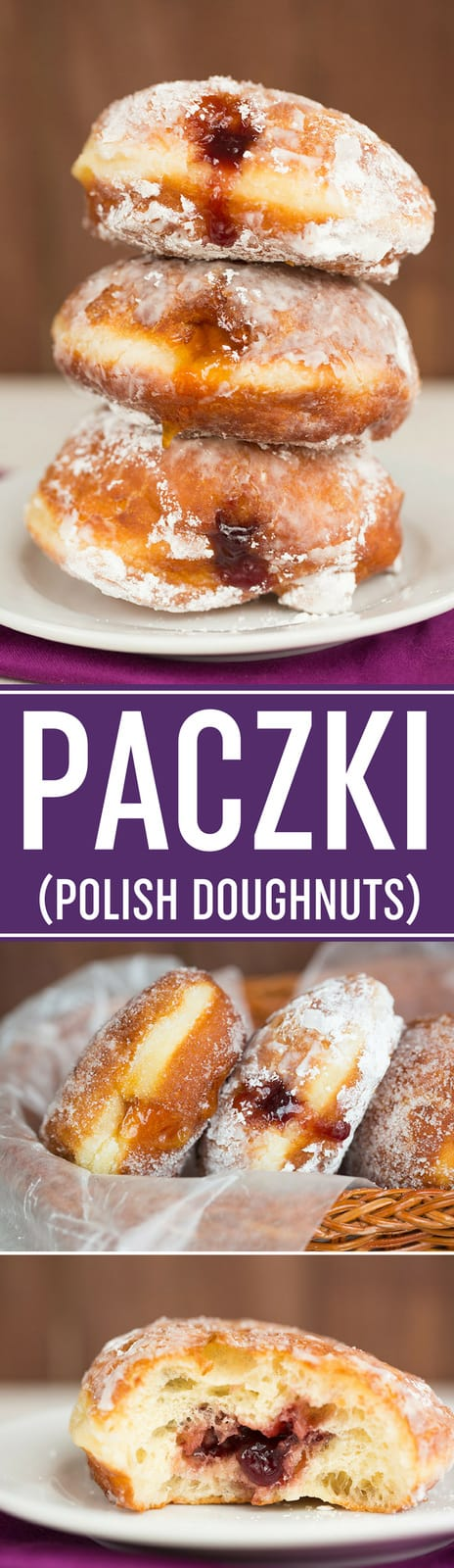 Paczki Recipe :: These Polish doughnuts are easy and so delicious! Fill with your favorite fruit and roll in sugar, then serve for Paczki Day. #doughnuts #donuts #polish #mardigras #paczki
