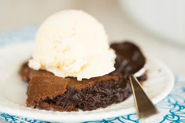 Brownie Pudding | browneyedbaker.com #recipe