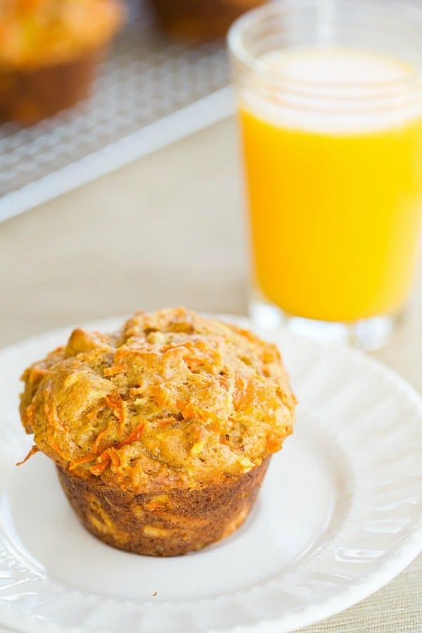 Morning Glory Muffins | browneyedbaker.com #recipe #breakfast