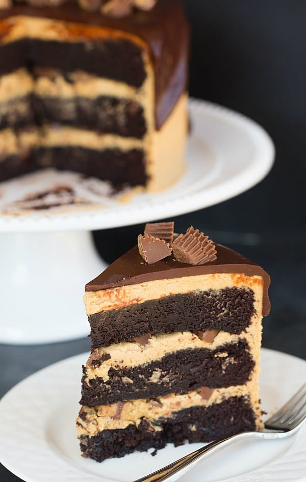 Peanut butter cup birthday cake recipe