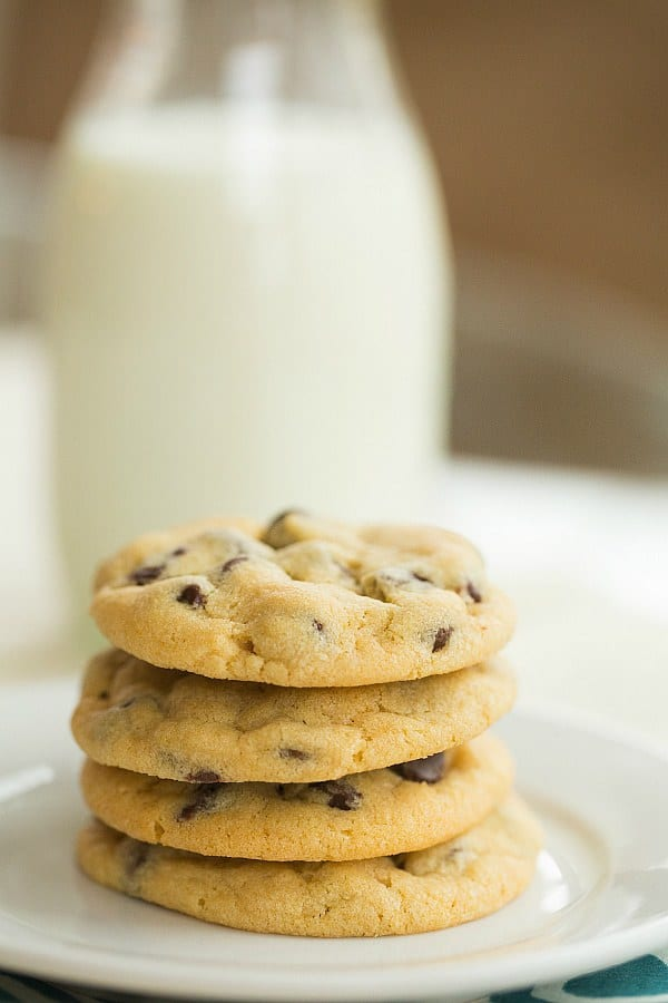 Copycat Soft Batch Chocolate Chip Cookies | browneyedbaker.com #recipe