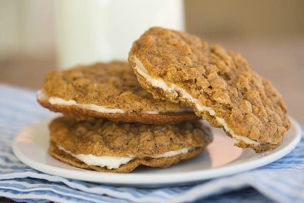 Oatmeal Cream Pies | browneyedbaker.com