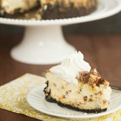 Snickers Cheesecake Recipe