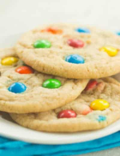 Soft And Chewy M M Cookies Brown Eyed Baker