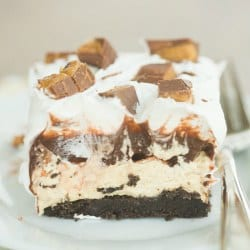No-Bake Peanut Butter Cup Icebox Cake