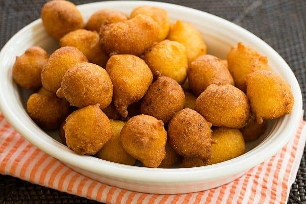 Hushpuppies #Recipe   browneyedbaker.com
