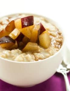 Vanilla & Brown Sugar Breakfast Polenta | Brown Eyed Baker