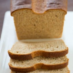 Whole-Wheat Sandwich Bread Recipe