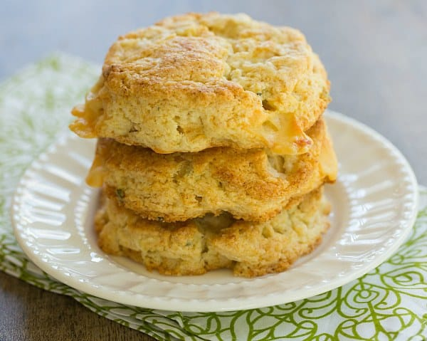 Apple Gruyere & Sage Scones | browneyedbaker.com #recipe
