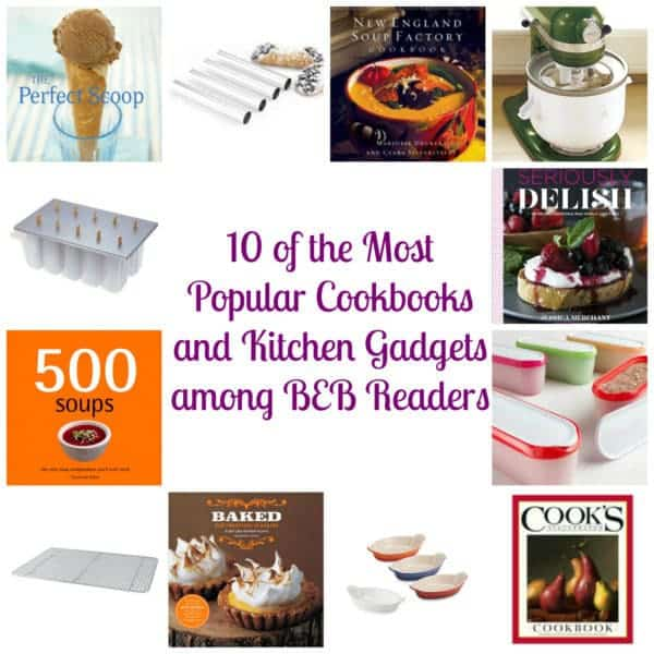 10 of the Most Popular Cookbooks and Kitchen Gadgets Among BEB Readers | browneyedbaker.com