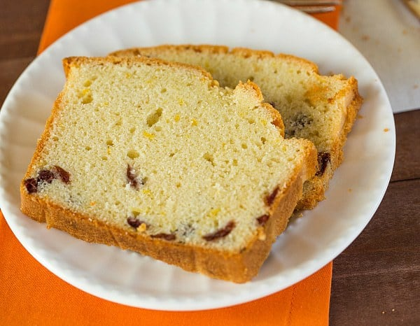 Cranberry Orange Bread - More crumb cake than bread, this is a perfect treat to have on hand for the holidays! | browneyedbaker.com