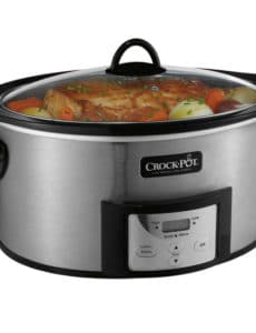 Enter to win a Crock-Pot® 6-Quart Slow Cooker with Stovetop-Safe Cooking Pot! | browneyedbaker.com #giveaway