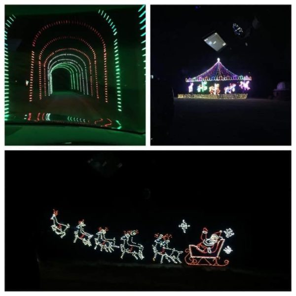Christmas lights at Oglebay resort