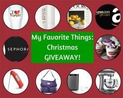 My Favorite Things: Christmas GIVEAWAY! | browneyedbaker.com